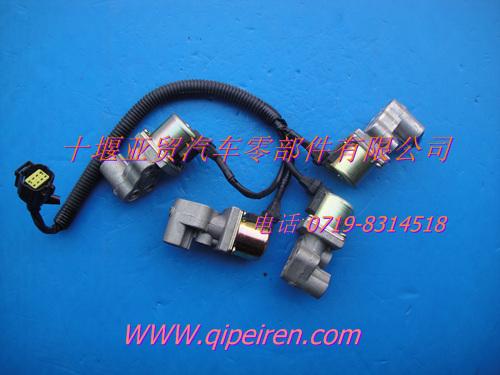 气缸电磁阀 气缸电磁阀接线 气缸电磁阀时间继电器图片