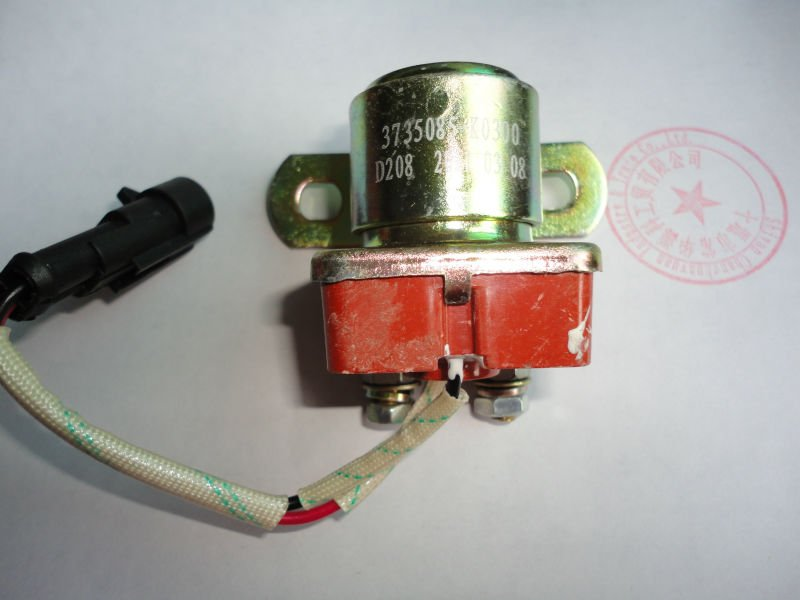 东风天龙起动机继电器总成 3735085-k0300 starter relay3735085-k