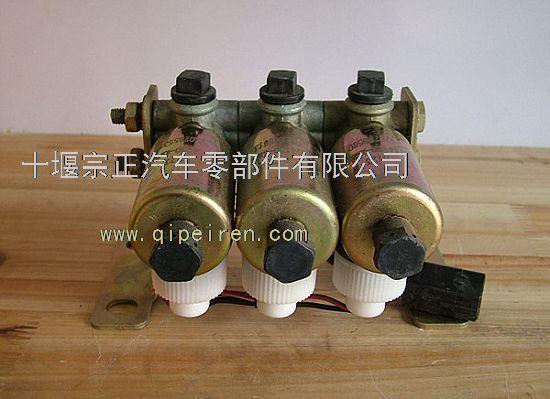 东风天锦三联电磁阀总成3754130-km6e0图片