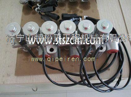 小松pc200-8先导电磁阀组价格,小松挖掘机纯正件