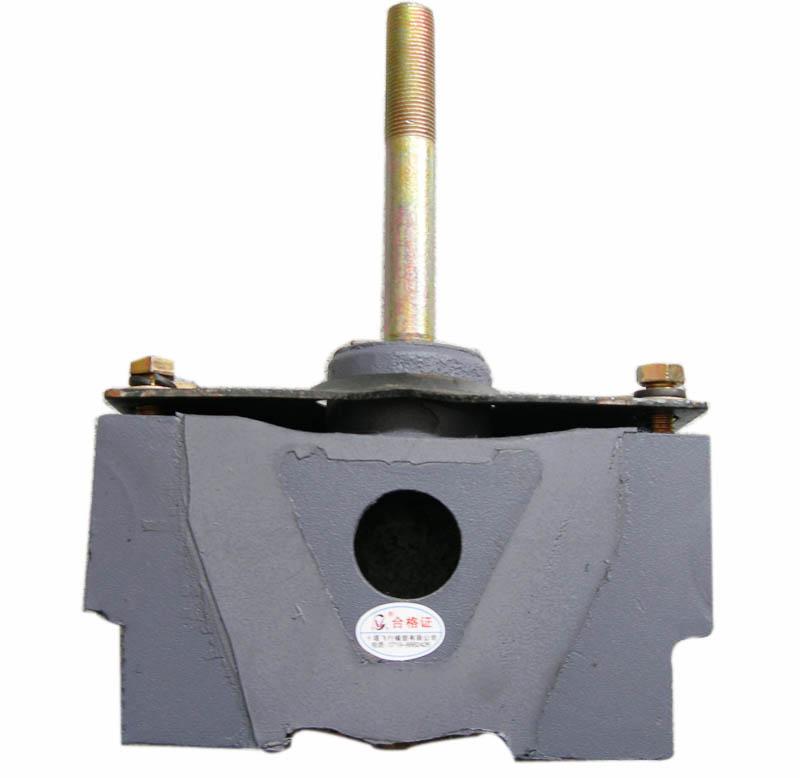 10D-01030-A东风EQ140发动机后悬置软垫总硬pvc片料图片