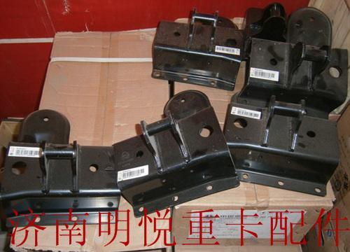 【重汽howoa7驾驶室液压锁右上支架总成wg1664440051图片