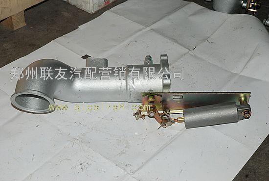 东风天龙排气制动阀带增压器联接管1203015-z24m0