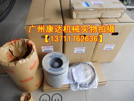 一件 代理日本三菱发动机6D22四配套 水泵 增压器 起动机 节温器 高高清图片