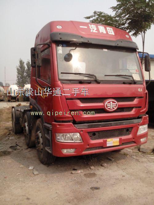 2011年一汽青岛解放悍威双导向拖车310