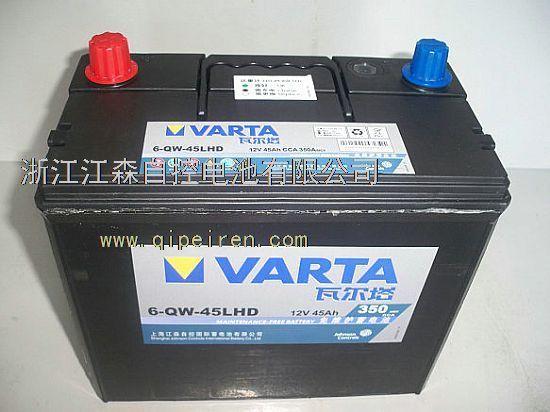 瓦尔塔电瓶真假鉴别图图片