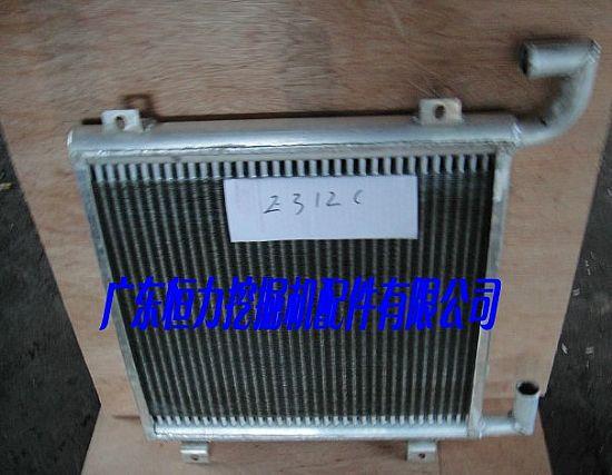 加藤挖掘机液压油散热器图片