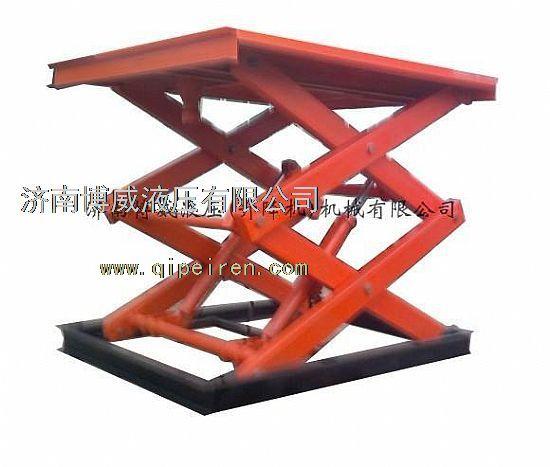 固定式液压升降平台主要用于生产流水线和仓库图片