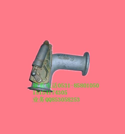 豪沃排气管带碟阀AZ9112540011AZ9112540011高清图片
