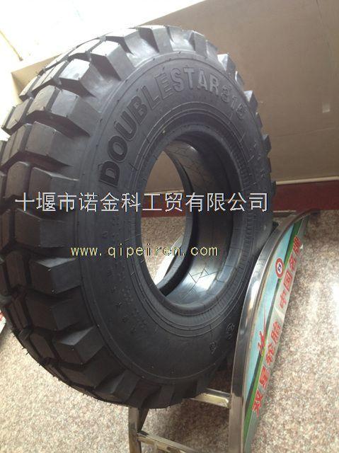 东风双星11r18越野花纹轮胎总成
