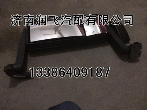 平度 批发供应陕汽德龙配件,新M3000倒车镜总成DZ13241824402高清图片