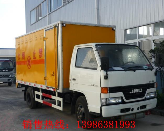 东风400公斤爆破器材运输车 国四汽油版防爆车