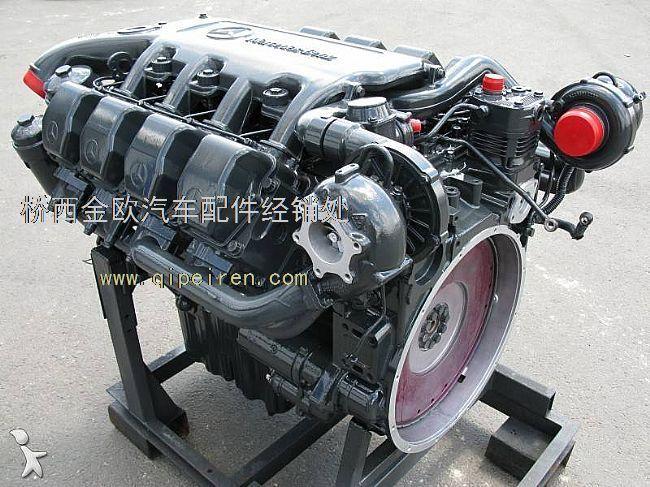 发动机马力:610 型号:om502