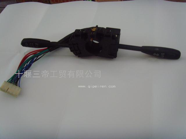 灯开关(陕齿6档)  名称:(天龙电器 东风电器 电喷)东风汽车电器/组合