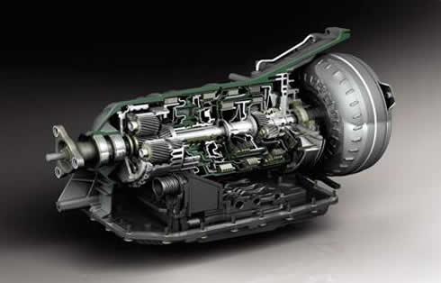 液力机械传动式自动变速器图片